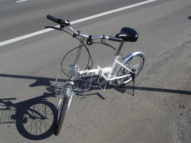 ポスティング 折りたたみ自転車