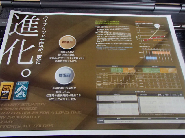 関西ペイント スーパーシリコンルーフ ハイブリット硬化剤