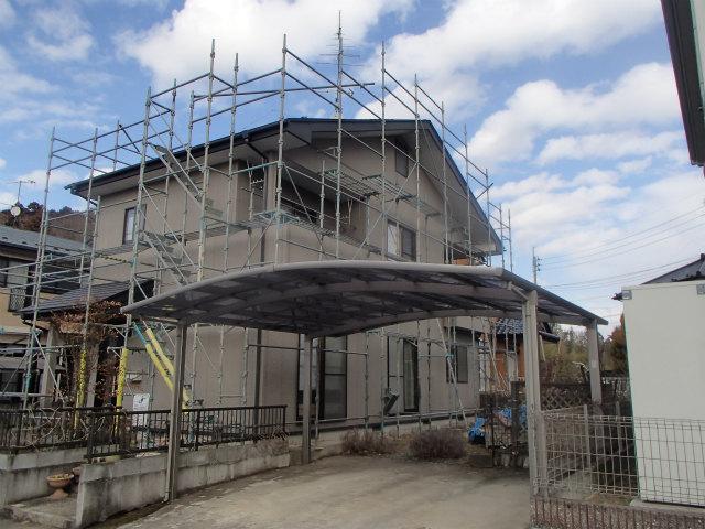 外壁塗装 屋根塗装 仮設足場設置