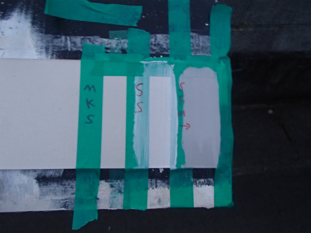 シーリング コーキング 塗膜付着性テスト