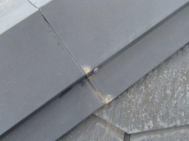 ビスに交換 屋根塗装