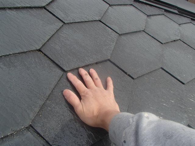 夜露 屋根塗装