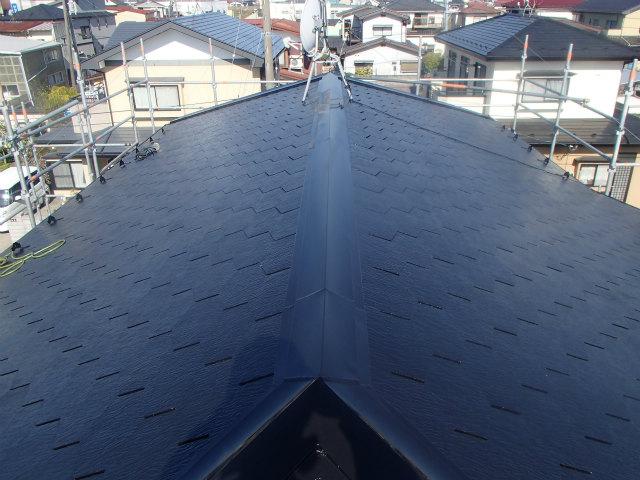 ミュータス 屋根塗装 縁切り カラーベスト コロニアル スレート
