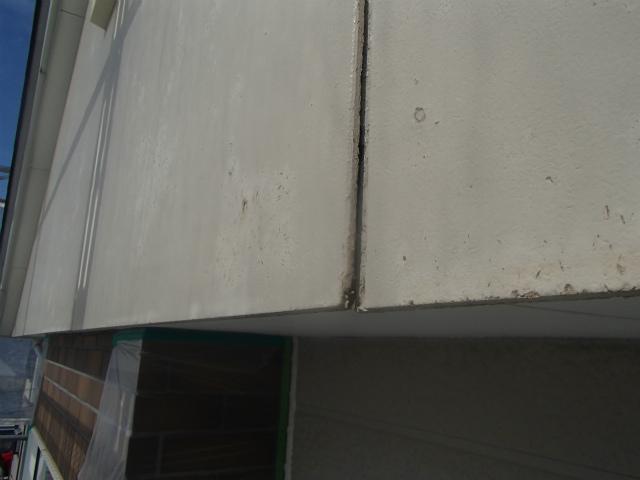 外壁 反り