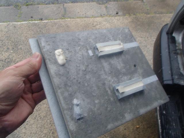 サイディングボード 水分計