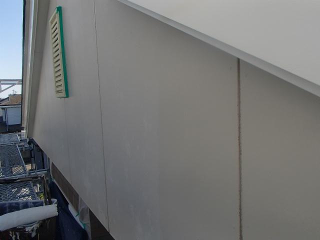 切妻 外壁 下塗り