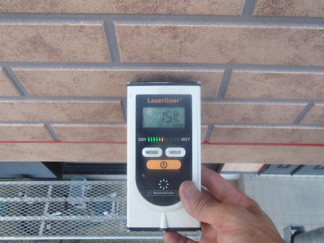 含水率 サイディングボード 外壁塗装