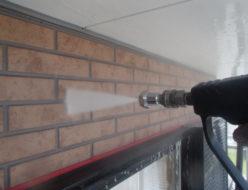 平ノズル 外壁 洗浄