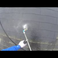 高圧洗浄 屋根塗装 カラーベスト コロニアル スレート