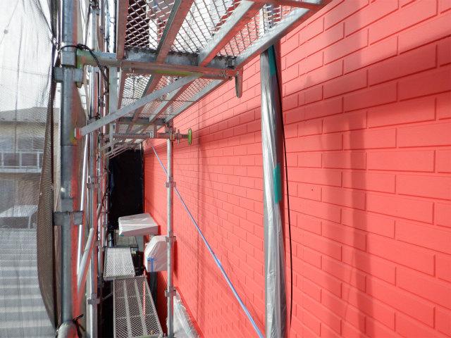 上塗り3回塗り 外壁塗装 07-40V