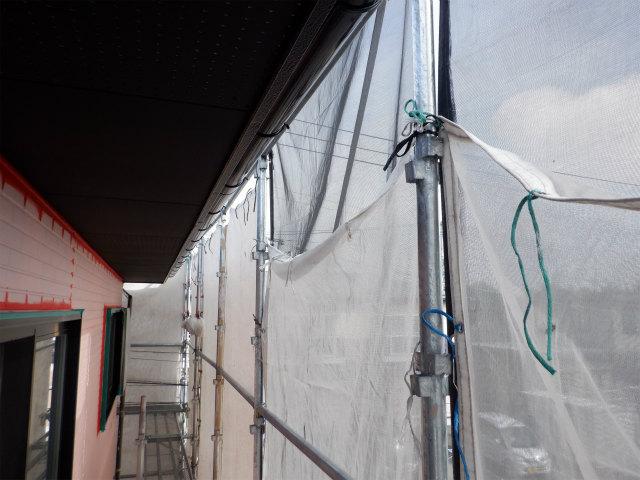 メッシュシート 外壁塗装