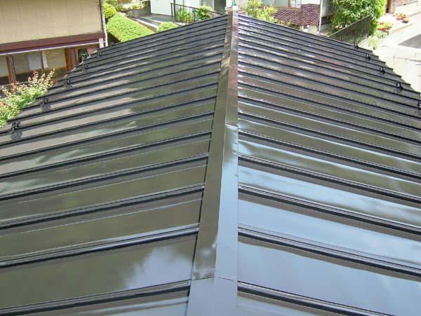 宮城県石巻市 トタン屋根塗装