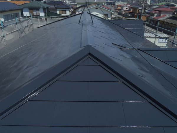 石巻市 トタン屋根塗装 塗り替え