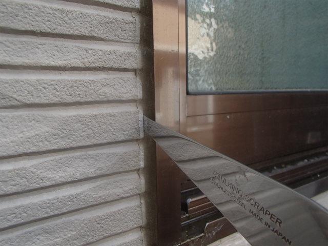 外壁塗装 窓周り コーキング
