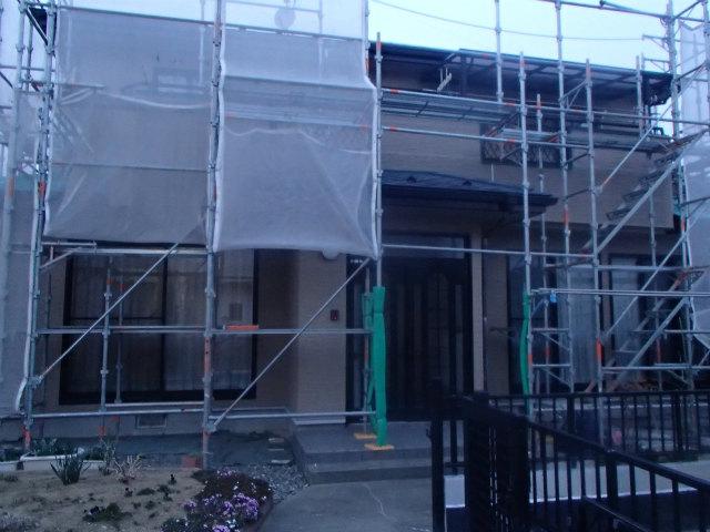南面外壁塗装完了
