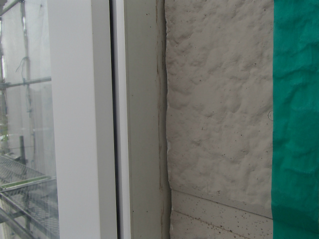 ヘラ シーリング 窓まわり 撤去