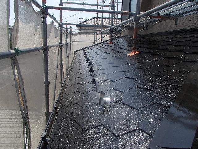 1階 屋根塗装 ミュータス