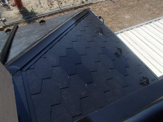 屋根塗装 上塗り ジャッキベース