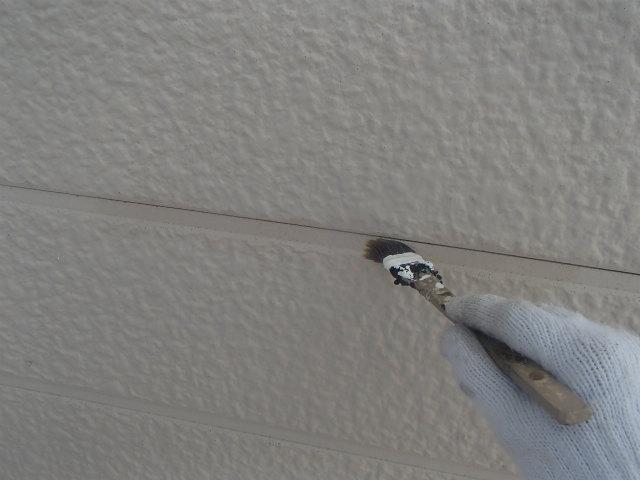 試し塗り 下塗り 外壁塗装