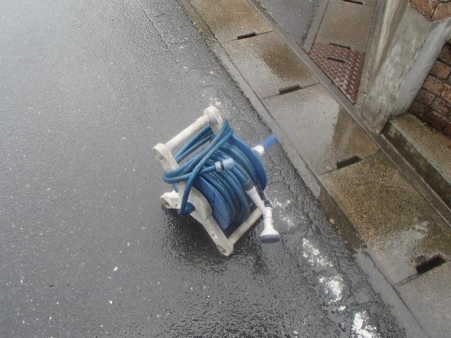 雨漏り ホース