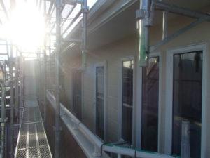 2階ベランダ 上塗り2回塗り完了