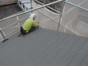 板金屋さん トタン屋根 横葺き