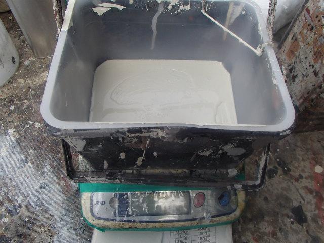 低汚染 弱溶剤2液形フッ素樹脂塗料