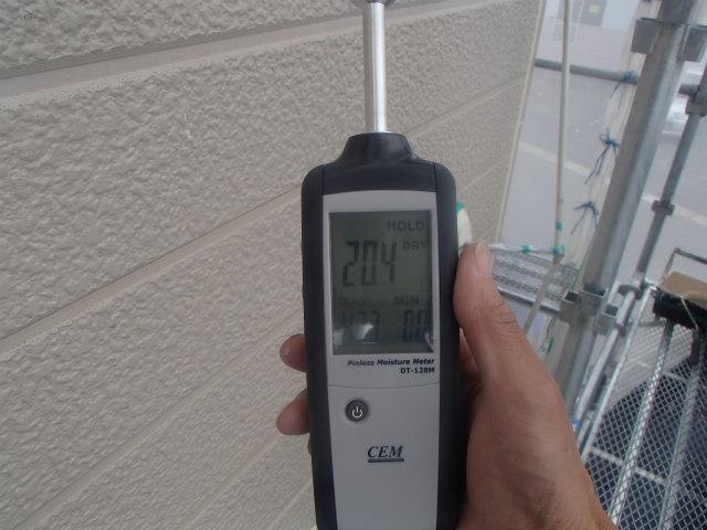 水分計 計測 サイディングボード