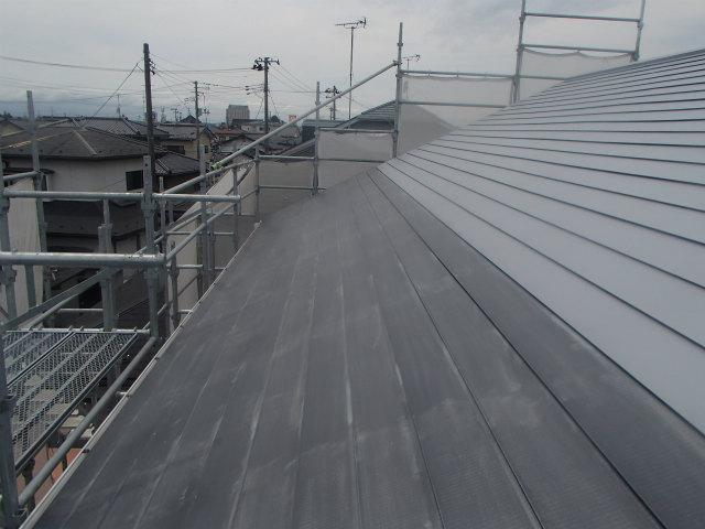 トタン屋根 ケレン 清掃