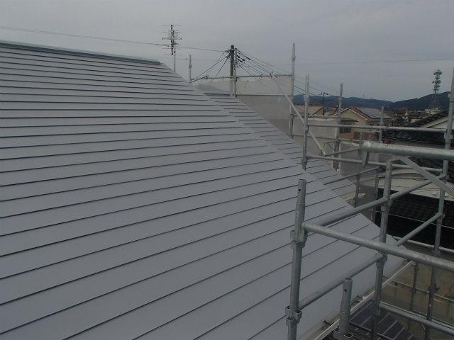 南面 トタン屋根 錆び止め完了