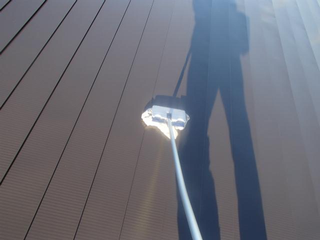 トタン屋根 清掃