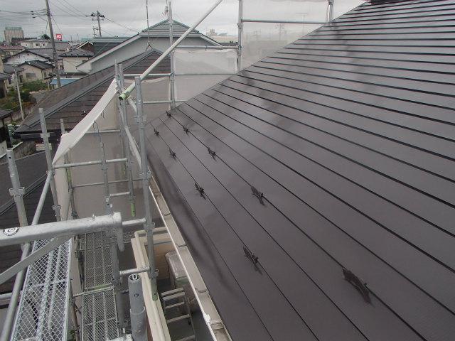 雪止め 設置 トタン屋根