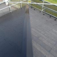 上塗り1回目 屋根塗装