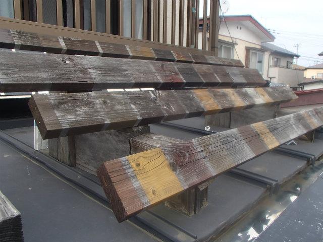 木材保護塗料 屋外暴露試験