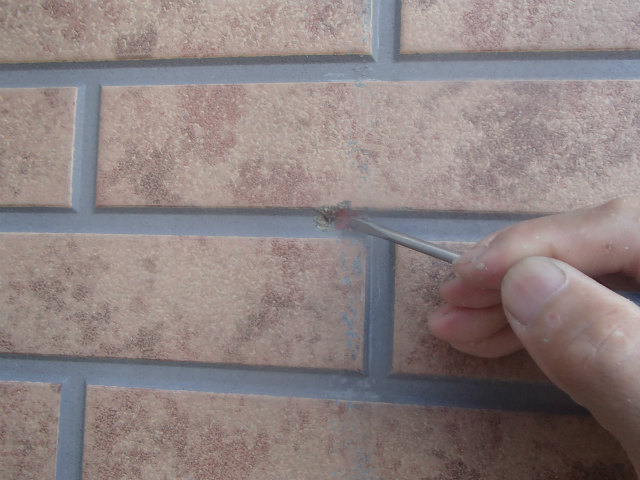 欠損部分 外壁塗装