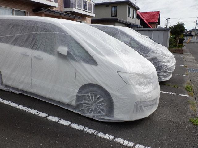 車 不織布 養生