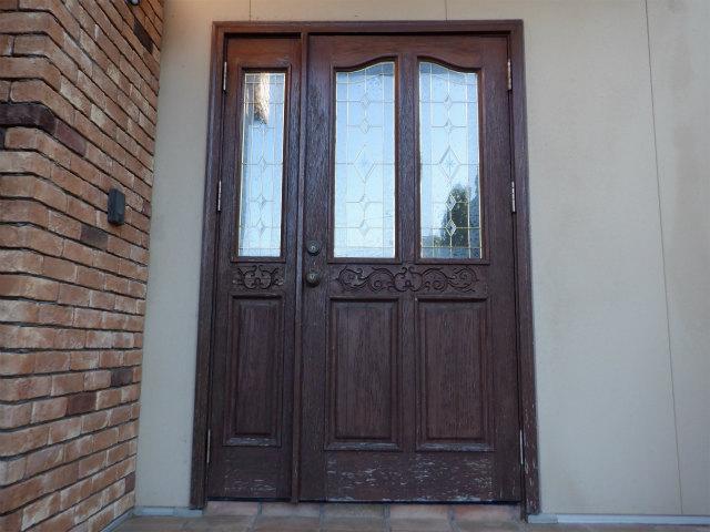 玄関ドア 現場調査 ノード