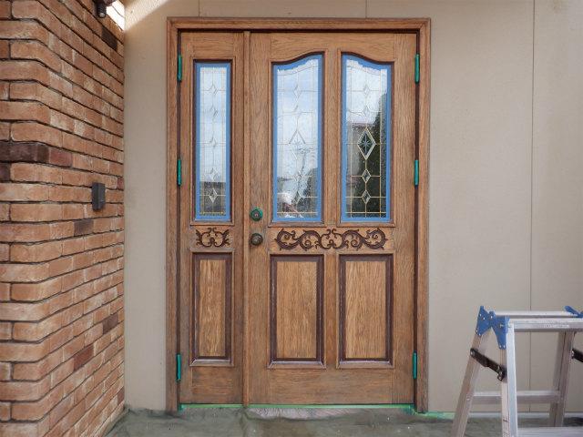 玄関ドア ノード 塗膜除去