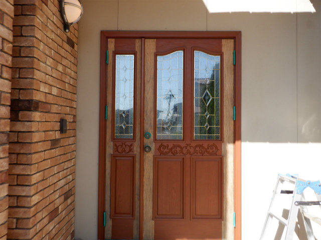 玄関ドア ノード 塗りか替え