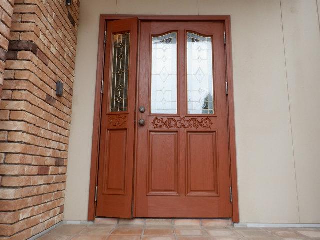 玄関ドア ノード 塗り替え
