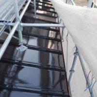 夜露対策 トタン屋根塗装
