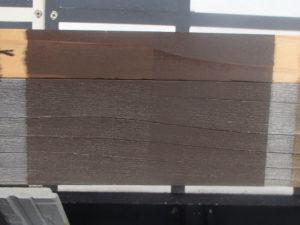 木材保護塗料 屋外暴露試験約3年後