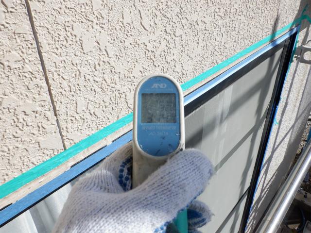南面 外壁 表面温度