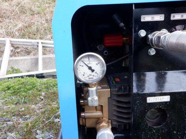 高圧洗浄 140Mpa