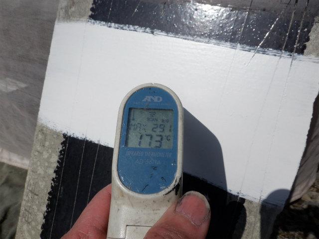 白錆 表目温度