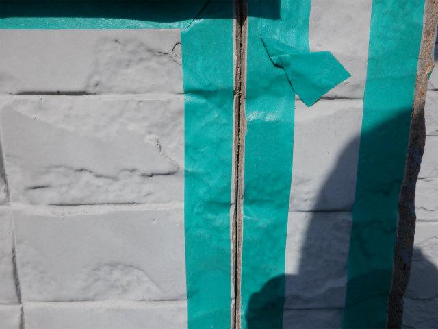 ドン付け 外壁塗装 窯業系サイディングボード