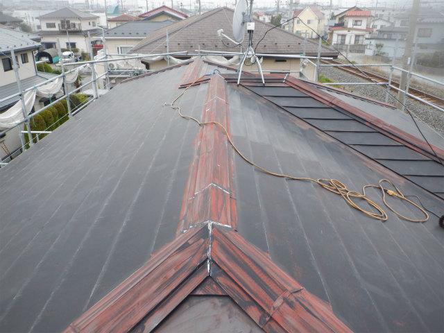 トタン屋根 ケレン/目荒らし