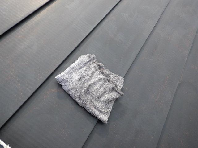 トタン屋根 水拭き