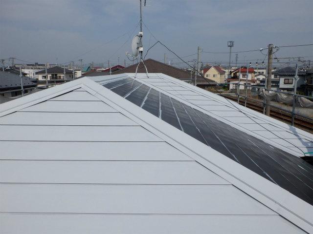 トタン屋根 錆止め塗装