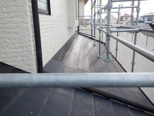 1階 トタン屋根 ケレン